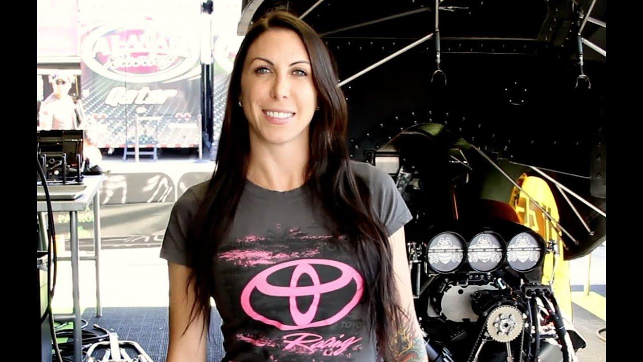 Alexis Dejoria Wins Her First Nitro Funny Car Wally Youtube