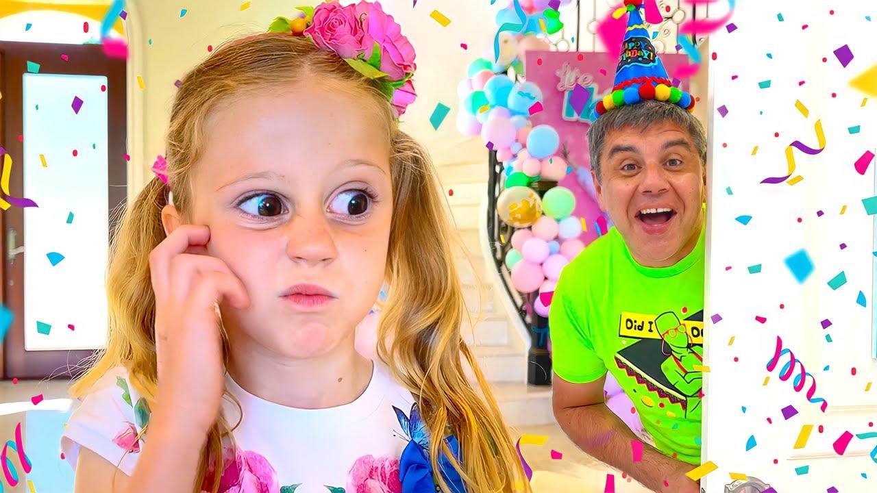 Download Nastya quên sinh nhật của bố! Tuyển tập video sinh nhật