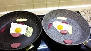 Сковороды с гранитным (тефлоновым) покрытием. Испытание 8