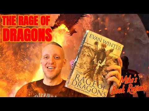 The Rage of Dragons by Evan Winter Book Review (The Burning #1)