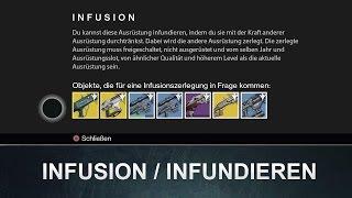 Destiny: Wie funktioniert INFUNDIEREN / Infusion (Wurde gepatcht)