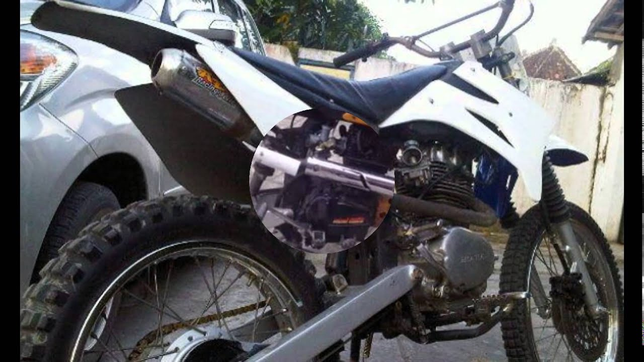 Video Modifikasi Motor Jadul Honda Gl Pro Modif Trail Rasa Klx YouTube