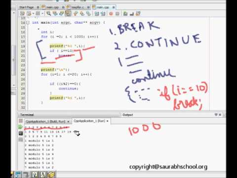c programming tutorial while do while loop continue
