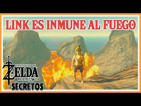 Secretos y Trucos de Zelda Breath of the Wild #122 - Como ser inmune al fuego
