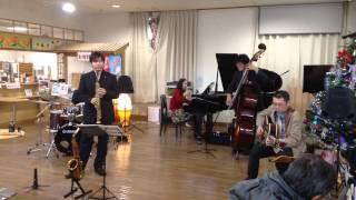 ミチエキコンサート 2013年11月17日 スパノバジャズクインテット 道の駅...