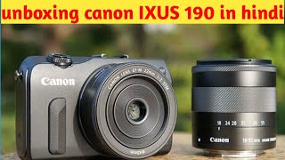 Canon IXUS 190 point & shoot camera with 10x optical zoom/unboxing & overview/Data Dock