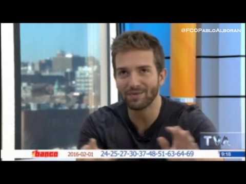 """Pablo Alborán en """"Salut, Bonjour!"""" de TVA"""