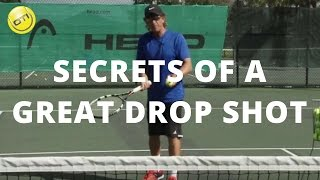 Tennis Tip: Secrets Of A Great Drop Shot