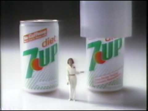 Commercial 7up New Diet 7up 1984 Youtube
