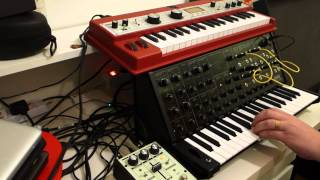 KORG ms-20 mini - A hommage to sample and hold in C-minor