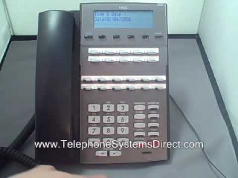 nec dsx time and date youtube rh youtube com NEC Phone Troubleshooting NEC Phone Troubleshooting