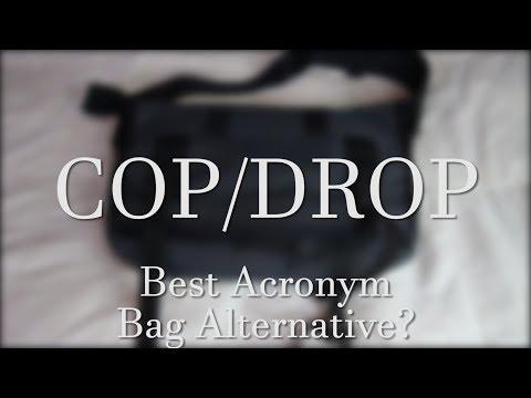 Best Acronym Bag Alternative ? | COP DROP Mission Workshop Monty VX Messenger Bag Review