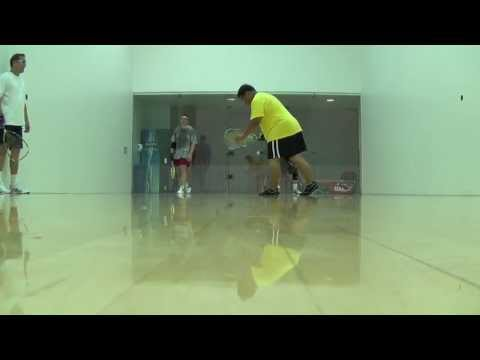 Freedom Racquetball Doubles - Brian/Jim, Sha/Mike S. - 2