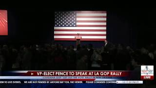 Full Event: GOP Get Out The Vote Rally for John Kennedy feat. VP-Elect Mike Pence 12/3/16