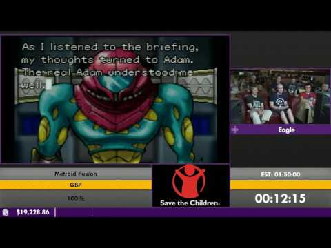 #ESA16 - Metroid Fusion [100%] by Eagle