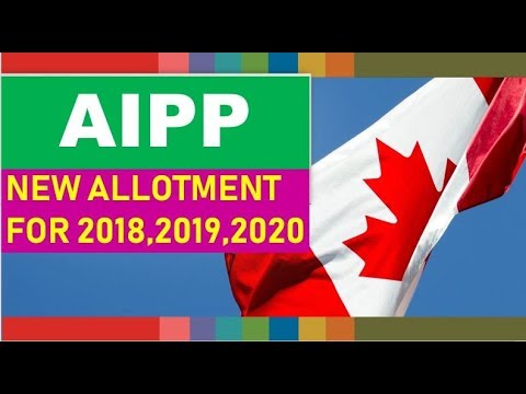 Atlantic Immigration Pilot Program Allotment