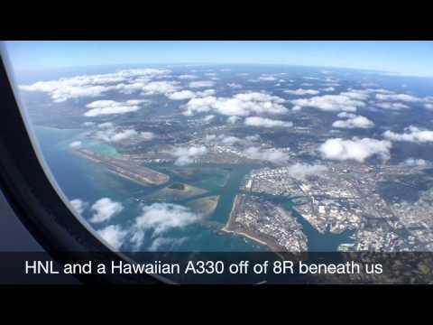 HA51 Hawaiian Airlines JFK-HNL A330-200