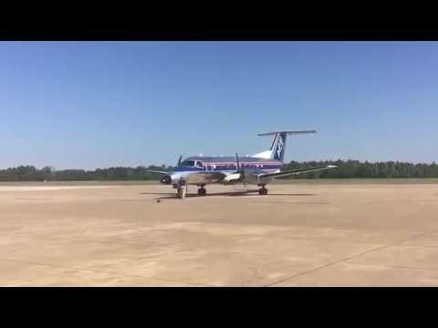 *RARE!* Air Charter Express Embraer EMB120 Brasilia(N122HL) at University-Oxford Airport