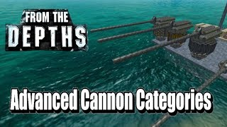 Advanced Cannon Categories - From the Depths