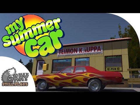 My Summer Car - A Drunken, Vulgar, Car Building Survival SImulator?! - Ep 1 - Gameplay Highlights