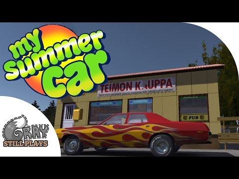my summer car  a drunken vulgar car building survival simulator?  ep 1  gameplay highlights
