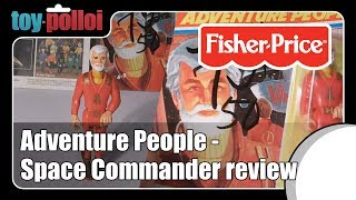 Vintage Toy Review  - Fisher Price Space Commander