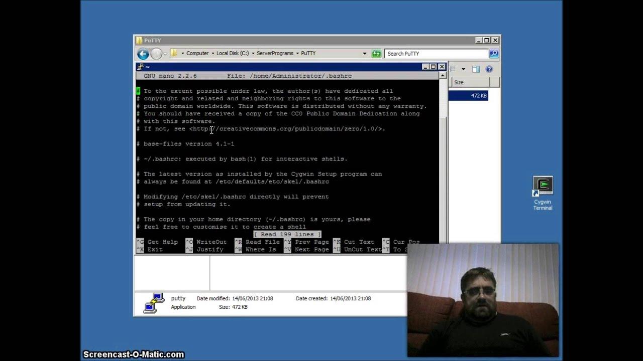 Uninstall Cygwin Windows Server