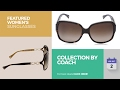 Collection By Coach Featured Women's Sunglasses