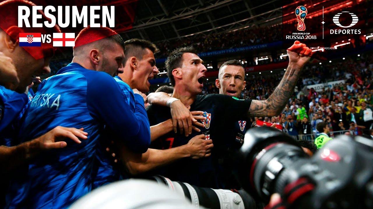Resumen Croacia 2 - 1 Inglaterra | Mundial Rusia 2018