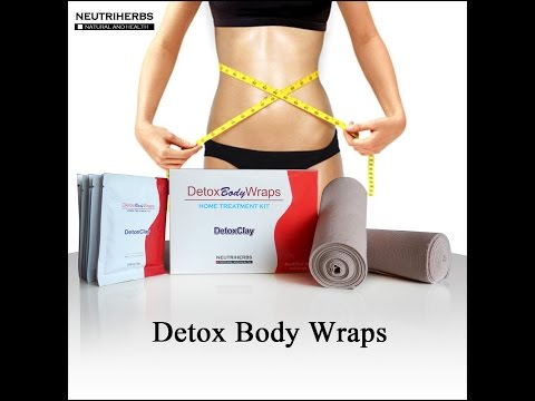 How to use detox body wrap