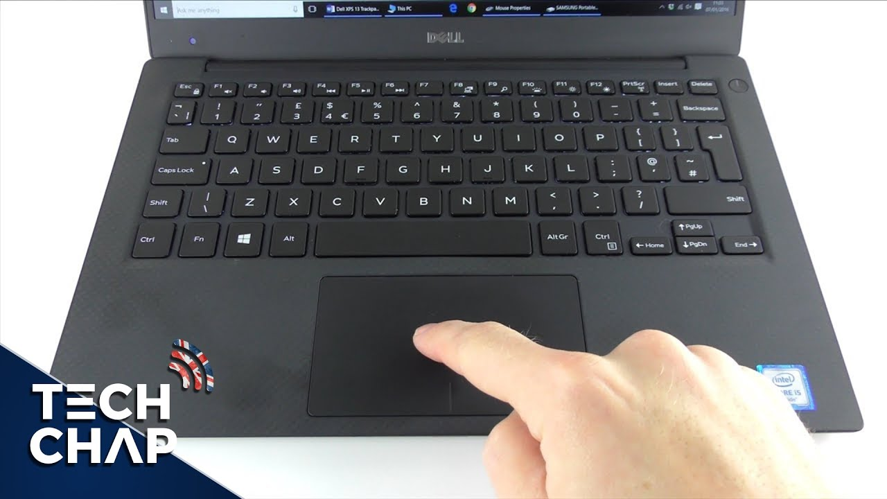 Dell XPS Trackpad