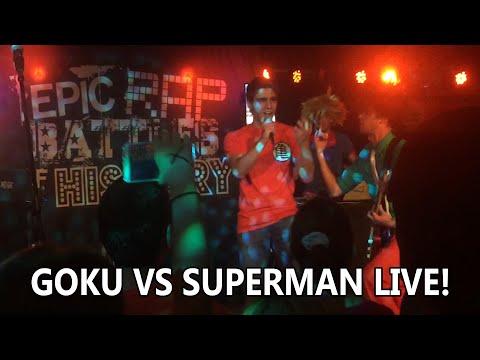 Epic Rap Battles of History Live! - Goku vs Superman (Me vs EpicLloyd)