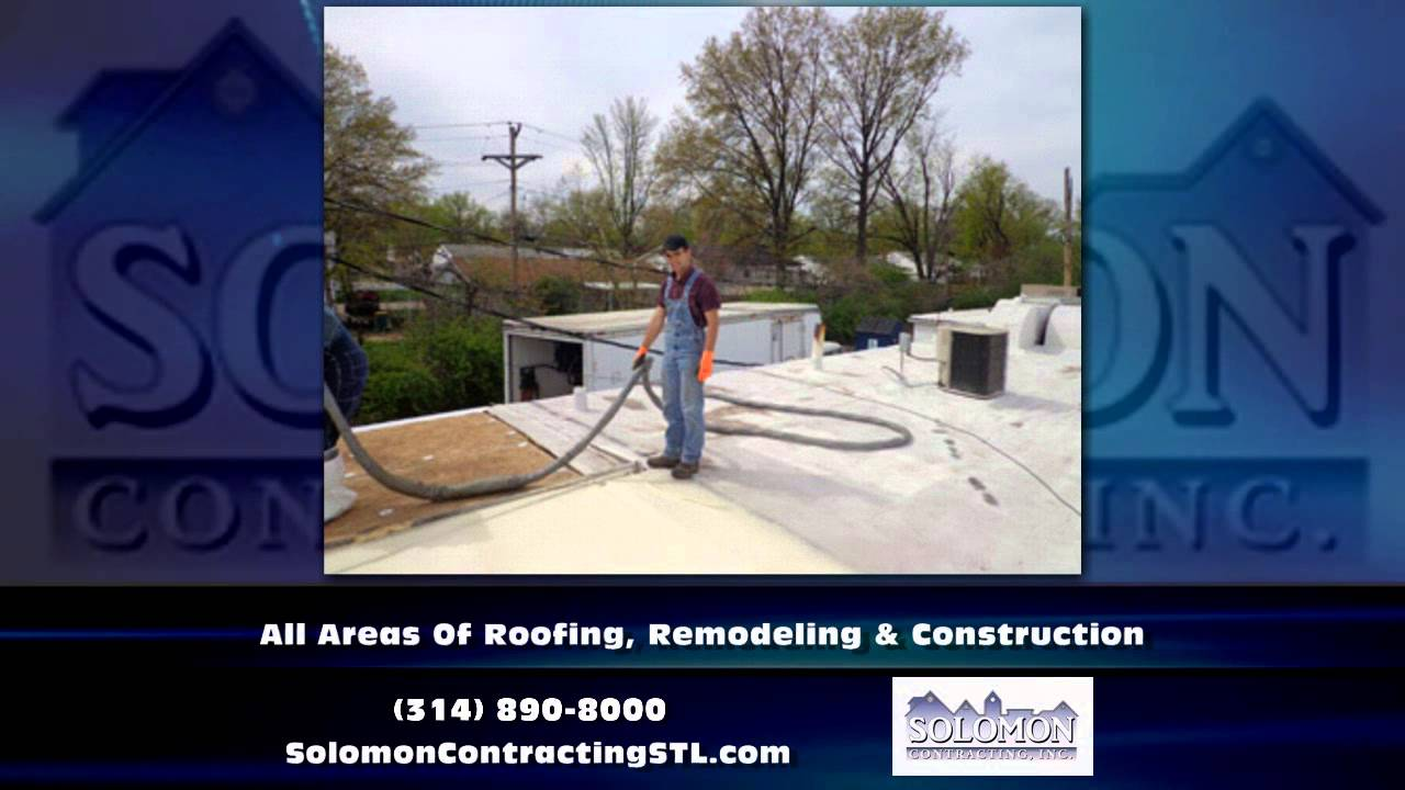 St Louis Missouri Roofing Solomon Contracting Youtube