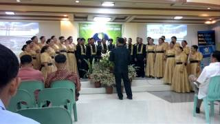 He Leadeth Me by Prosperidad Central Church Choir
