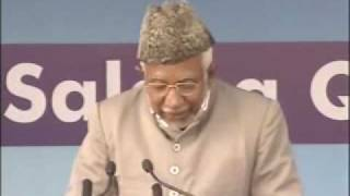 Ahmadiyya : Hazrath Maseehe Moud(as) Jalsa Qadian 2009 Day 2 Morning Part 2/3