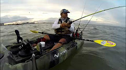 Kayak Fishing: Downtown Corpus Christi - #VibeKayaks