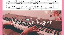 BTS (방탄소년단) - Make It Right Piano Cover