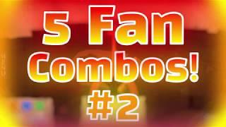 5 Fan Combos! #2 | Roblox Elemental Battlegrounds