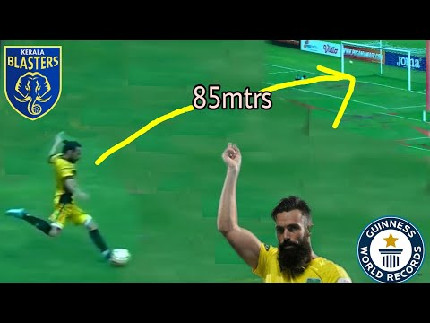 Wonder Goal of Kerala Blasters new player Victor Pulga || 85m