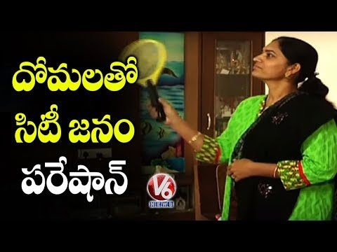 Hyderabad Hospitals Overcrowded With Dengue Patients | V6 Telugu News
