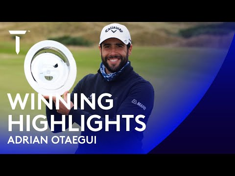 Adrian Otaegui wins in St Andrews after stunning 63 | 2020 Scottish Championship presented by AXA