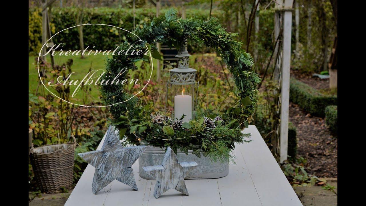 diy kreative weihnachts und winterdeko f r drau en. Black Bedroom Furniture Sets. Home Design Ideas