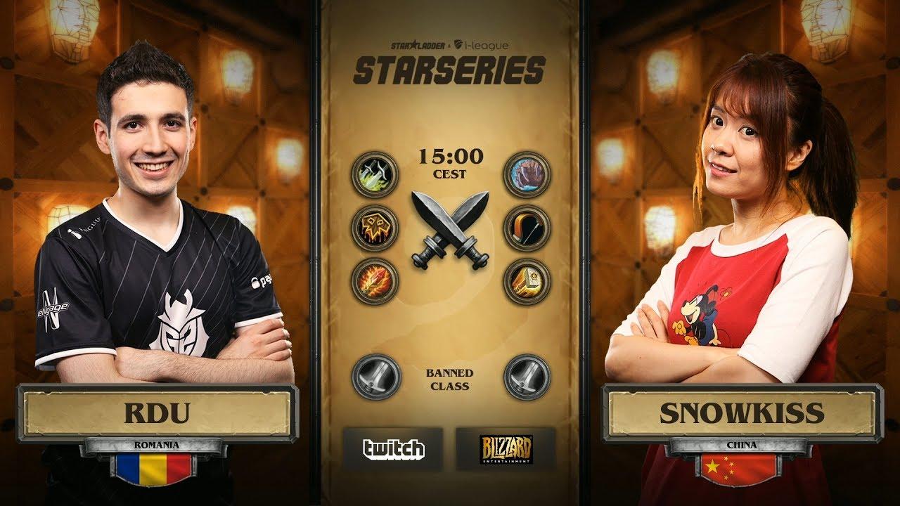 [RU] RDU vs Snowkiss | SL i-League Hearthstone StarSeries Season 3 (10.06.2017)