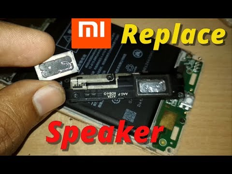 xiaomi 3s prime Speaker(Sound) problem - Speaker Replacement- 100% FIX [2018]