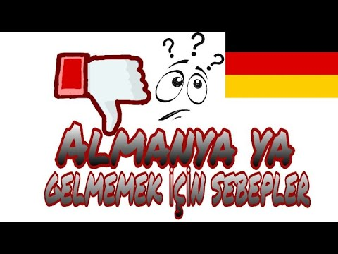 Almanyaya gelmek isteyenlerin dikkatine! Ahmet Eroğlu ALMANYADA YAŞAM