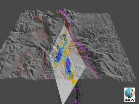 La faglia sorgente del terremoto di Amatrice [Video INGV Terremoti]