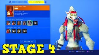 "SEASON 6 ""DIRE"" WHITE WEREWOLF UPGRADE! 