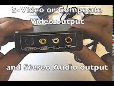HDMI to S-Video, Composite and Audio