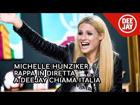 Michelle Hunziker rappa in diretta (e lascia tutti a bocca aperta)