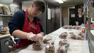 Woman with Down syndrome bakes her way to success